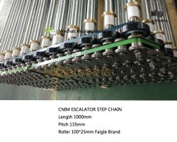 Cnim 1000mm escalator step chain TH135A-00  CNSC0001L100