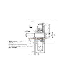 Kettenwulf Schindler Step Chain for Schindler 9300 Escalator