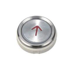Elevator Button Up Red AK-15B 37.2*36.5mm DTAN02RUP
