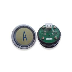 Push Button for Schindler 3300 Elevator, Mark A Green LED 3Pin