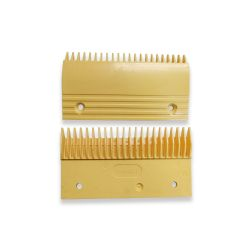 L47312023A yellow escalator comb plate