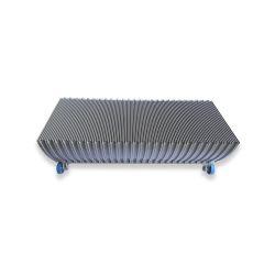 1705881100 Escalator Step 8602.2 for  ECO Escalator, 5EK Silver Grey Painted 300000000847 Roller 75*23.5mm