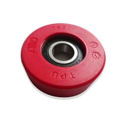 Canny Escalator Roller 75*25mm 6204  Red With Waterproof Cover