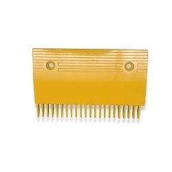 KONE Escalator yellow comb plate KM5130667H02