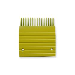 GOA453A9 Otis Comb Plate, J Type Yellow 15 Tooth GO2215T5