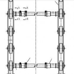 Fujitec Roller Chain, S1000 Type