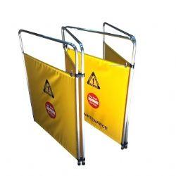 Escalator Barricade 42