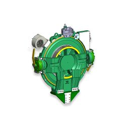 KM755990G06  Gearless Elevator Machine MX20