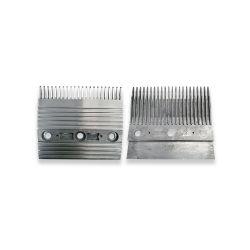 DEE1718892 COMB SEGMENT FOR KONE ESCALATOR, C4 L=197.4mm Silver NZ1702321 replace DEE4007839