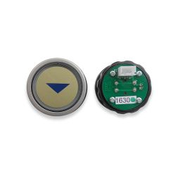 Push Button for  3300 Elevator, Mark Arrow Green LED 3Pin