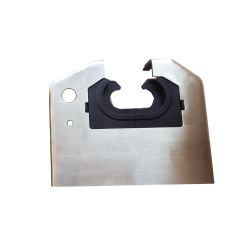 Handrail Front Plate for FT732 Escalator, Stainless Steel