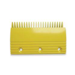 Yellow escalator comb plate for  AVANT escalator TKCP2104RY