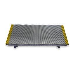 1705768600 5EK yellow painted 1000mm escalator step for  escalator