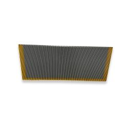 1705768600 5EK 1000mm escalator step with 3 sides painted yellow for  escalator