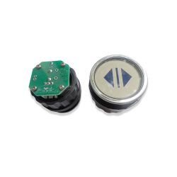 Push Button for  Elevator, Mark Open Green LED 3Pin