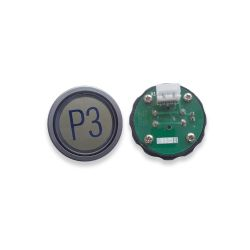 Push Button for  Elevator, Mark P3 Green LED 3Pin