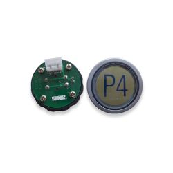 Push Button for  Elevator, Mark P4 Green LED 3Pin