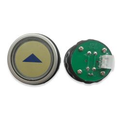 Push Button for  Elevator, Mark Up Red LED 3Pin